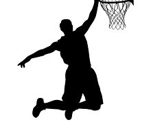 Basketball Player Silhouette 2 by Gotcha29