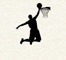 Basketball Player Silhouette 2 Zipped Hoodie