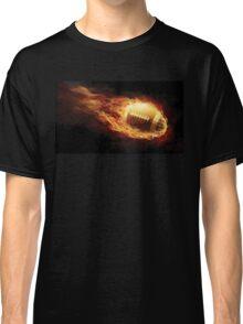 Fiery Football Classic T-Shirt