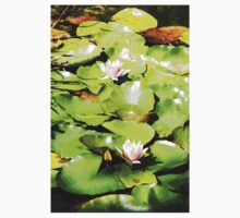 Water Lilies One Piece - Short Sleeve