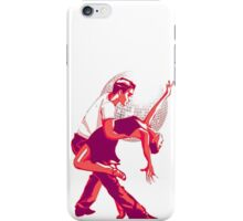 Strictly Salsa Couple Dancing With Glitter Ball iPhone Case/Skin