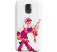 Strictly Salsa Couple Dancing With Glitter Ball Samsung Galaxy Case/Skin