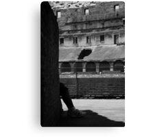 Colosseum Tourist Canvas Print