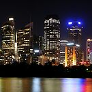Sydney Lights by Gino Iori