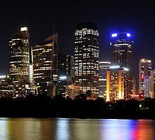 Sydney Lights by Gino Iori