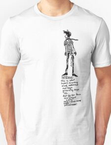 Aloof Melbourne Rock Boy Warning T-Shirt