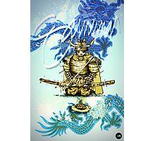 Samurai Sword Photographic Print