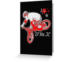 BMX Extreme Greeting Card