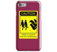 Time for Riverdance iPhone Case/Skin