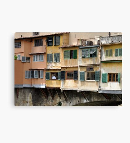 Windows & Shutters Canvas Print