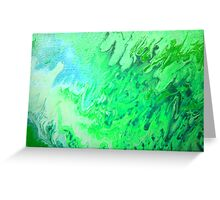 Dragon's Breath abstract  Greeting Card