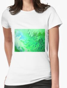 Dragon's Breath abstract  Womens Fitted T-Shirt