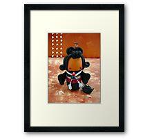 CHUNKIE Geisha Framed Print