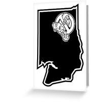 PNW:GB - Washington State (blk) Greeting Card