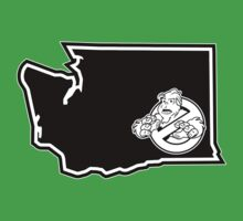 PNW:GB - Washington State (blk) Kids Clothes
