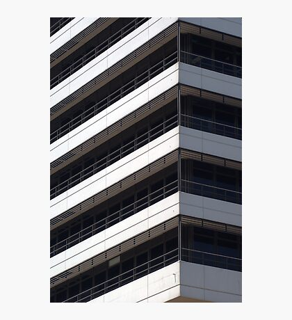 IBM office building detail Photographic Print