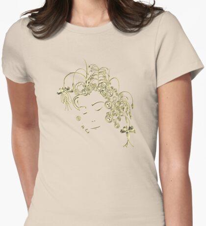 Golden Girl Womens Fitted T-Shirt