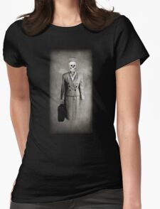 Corporate Slavery Womens Fitted T-Shirt