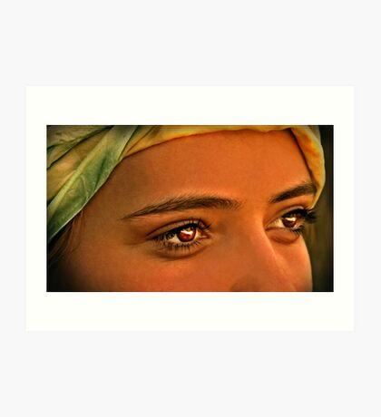 Eyes Wide Open Art Print