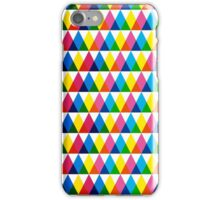 Triangle geometric multiply pattern iPhone Case/Skin