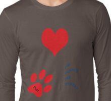 Love is !! Long Sleeve T-Shirt