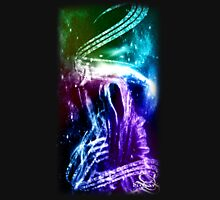 Rainbow Reaper Womens Fitted T-Shirt