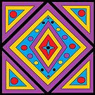 Square and Triangle Pattern by Sandy1949