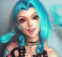 Jinx - League of Legends by MindxCrush