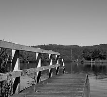 Tumbulgum Jetty by Nathan Russell