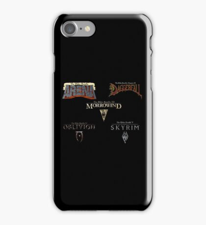 Throughout the Years iPhone Case/Skin