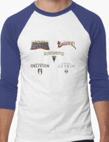 Throughout the Years Men's Baseball ¾ T-Shirt