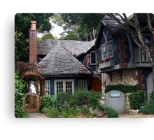 Dream Cottage in Carmel-by-the-sea Canvas Print