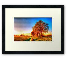 Rural Bulgaria Framed Print