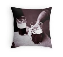 Beer o'Clock Throw Pillow
