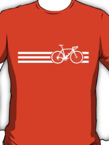 Bike Stripes White x 3 T-Shirt