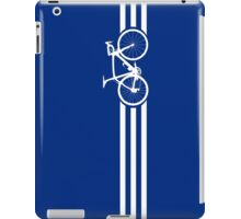 Bike Stripes White x 3 iPad Case/Skin