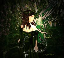 Forest Faery Photographic Print