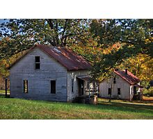 Henry River Mill Houses Photographic Print