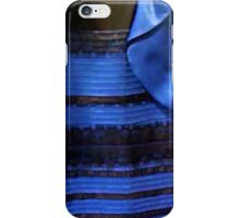 Famous blue black dress iPhone Case/Skin