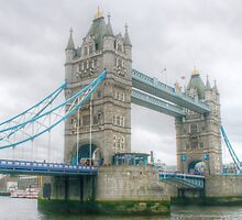 Tower Bridge .. A Closer View by Michael Matthews