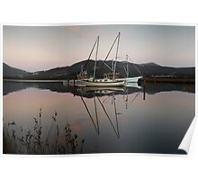 Tranquil Moorings  Poster