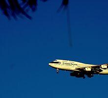 An SFO Landing by davesdigis