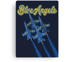 Blue Angels v2 Canvas Print