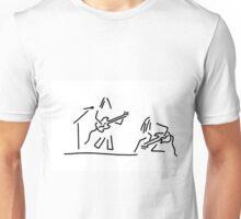 rock musician guitar headbanger Unisex T-Shirt