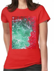 Better Than Ever Abstract Womens Fitted T-Shirt