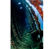 Carnatic wreck inside Photographic Print