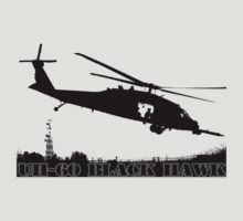 UH-60 Black Hawk by hottehue