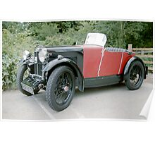 1920's MG Sports Car. Poster