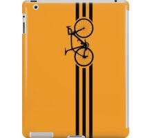 Bike Stripes Black iPad Case/Skin