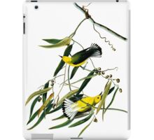 Prothonotary Warbler iPad Case/Skin